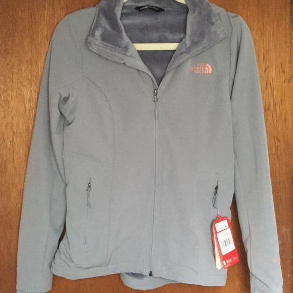 76d20c37c North face hooded water repellent fleece jacket NWT